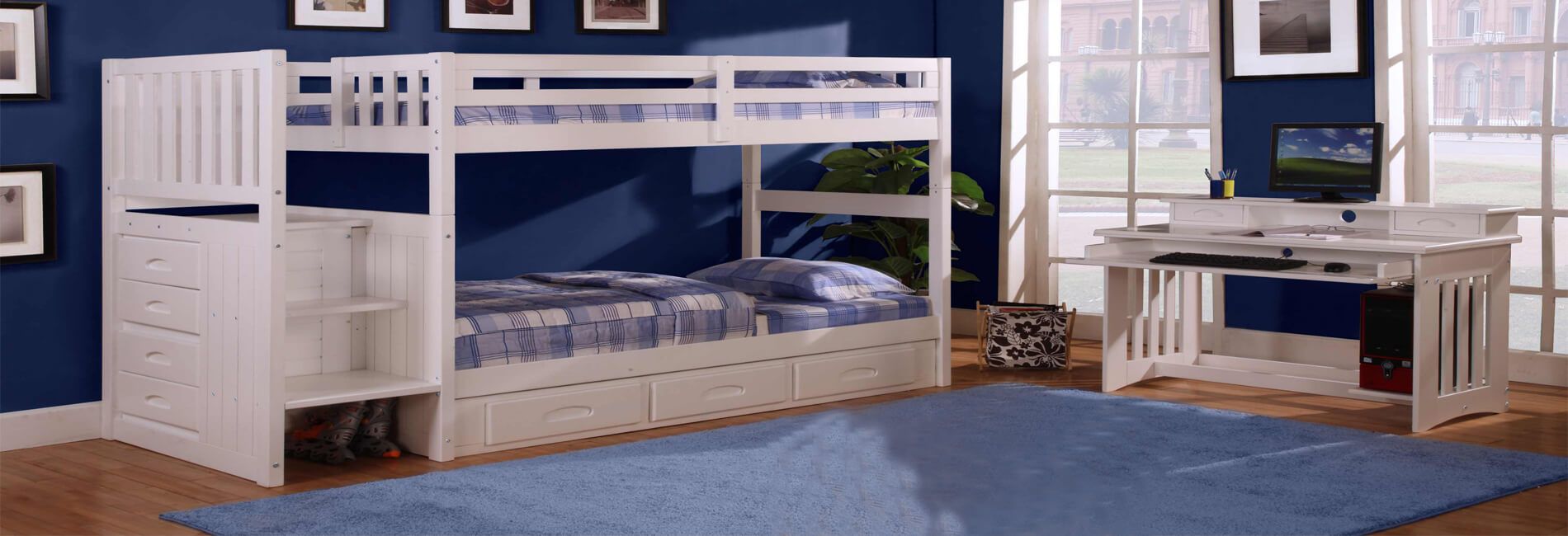 Picture of: Childrens Bunk Beds Kids Bunk Beds Childrens Loft Beds